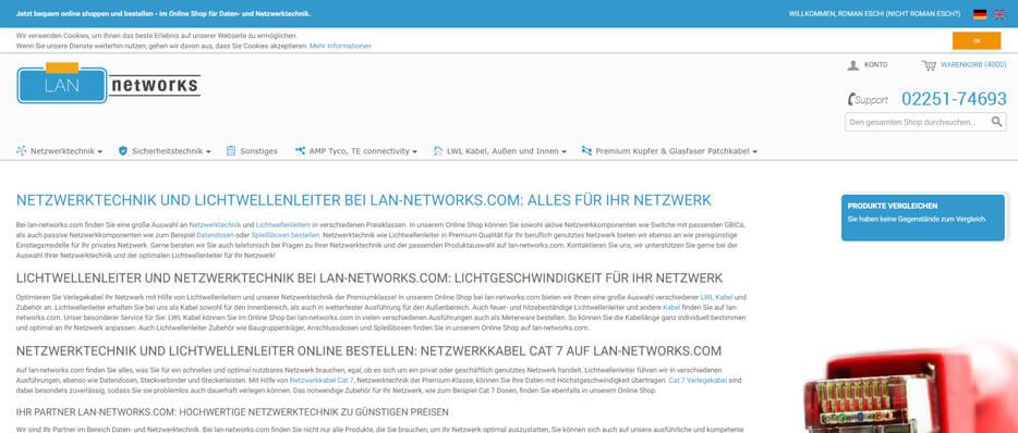 Local Area Network - Networks Shop  - LAN networks Shop